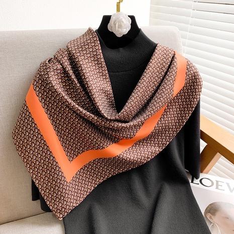Simple fashion twill satin silk scarf  NHCJ317823's discount tags