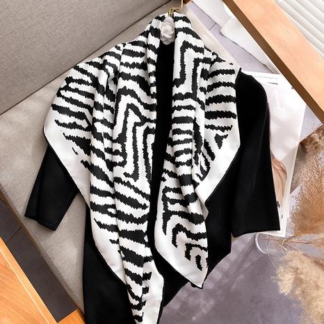 new fashion handmade printing square scarf  NHCJ317840's discount tags