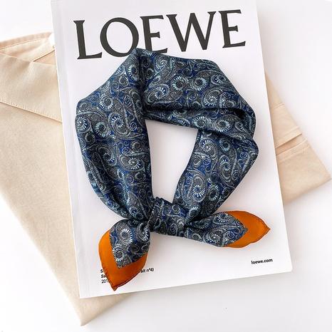 Cashew flower silk scarf  NHCJ317857's discount tags