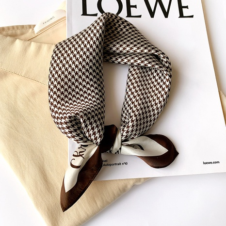 Classic fashion korean wild houndstooth scarf  NHCJ317872's discount tags