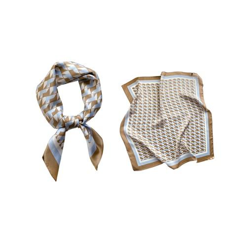 Korean fashion square scarf  NHCJ317879's discount tags