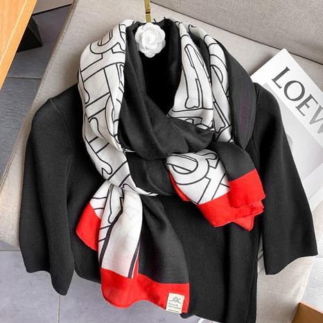 nueva moda elegante bufanda de seda de protección solar NHCJ317883's discount tags