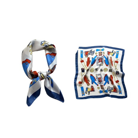 nouvelle écharpe carrée imprimée à la mode NHCJ317899's discount tags