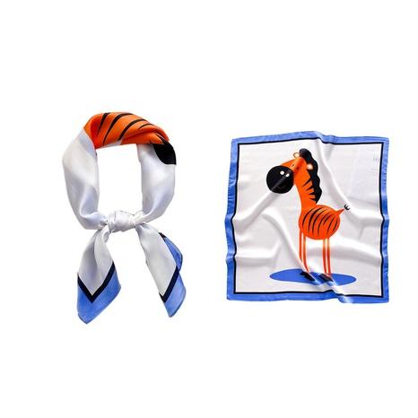 fashion plain weave print square scarf  NHCJ317897's discount tags
