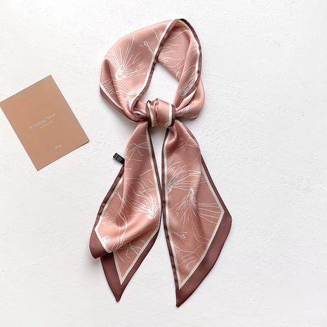 Korean wild strip tied scarf  NHCJ317909's discount tags