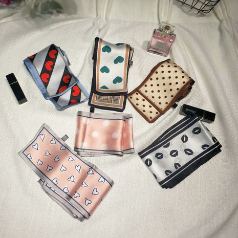 Pañuelo de seda retro de decoración coreana NHCM317947's discount tags