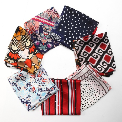 Korean decoration long square scarf  NHCM317951's discount tags