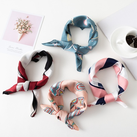 professional decoration retro small square scarf  NHCM317988's discount tags