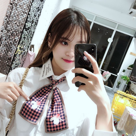 spring and summer retro fashion small scarf NHCM317992's discount tags