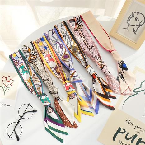 imitation silk long fashion scarf NHCM317991's discount tags