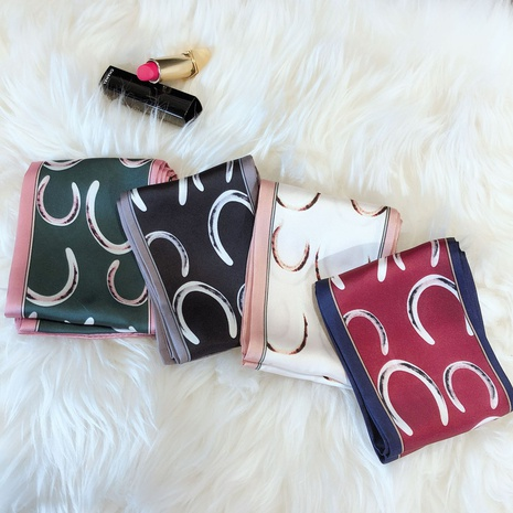Korean decoration long square scarf  NHCM317995's discount tags