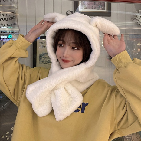 mignon ensemble de chapeau d'oreille de lapin mobile coréen NHCM318017's discount tags