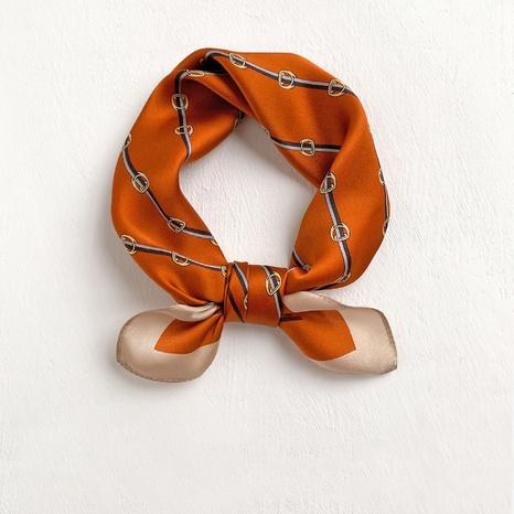 Bufanda de seda con estampado de moda coreana NHCJ317913's discount tags