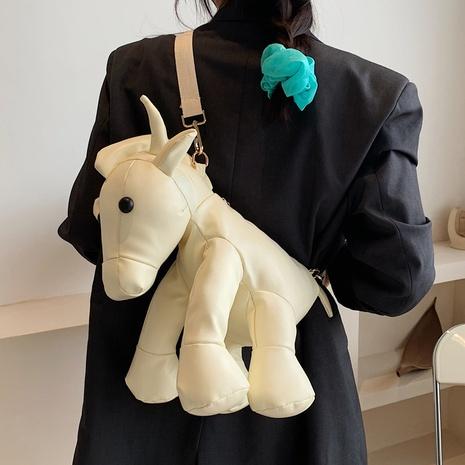 Sac de poupée coréen dessin animé mignon vache NHTG318067's discount tags