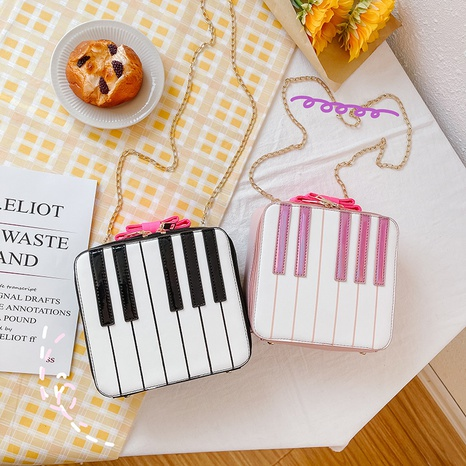 Funny little square piano bag  NHTG318073's discount tags