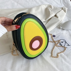 avocado single shoulder messenger small bag NHTG318076