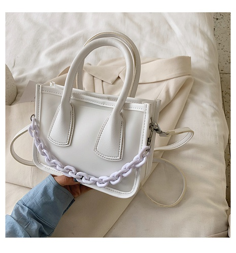 transparent fashion messenger bag NHTC318136's discount tags