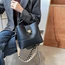 fashionable solid color largecapacity bucket bag NHJZ318296