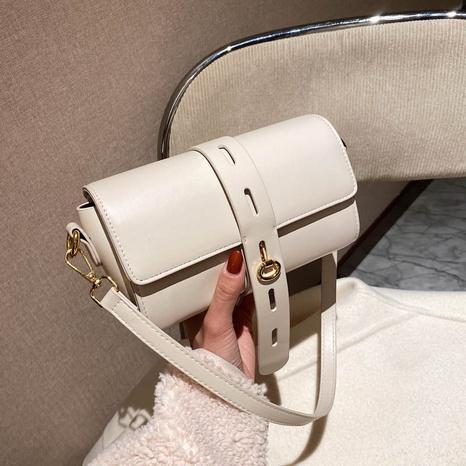 bolso retro de color sólido de moda casual NHJZ318317's discount tags