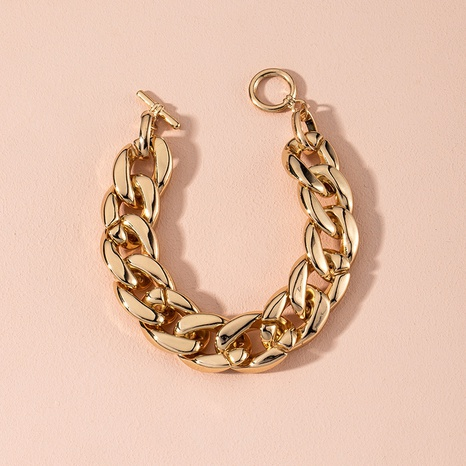 Exaggerated Simple Thick Chain Bracelet  NHAI314293's discount tags