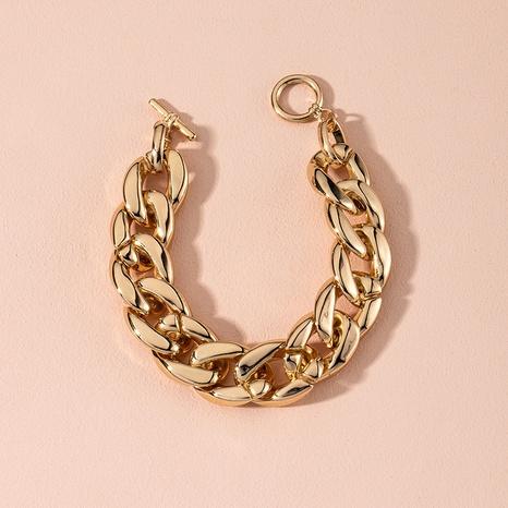 Bracelet à chaîne épaisse simple et exagéré NHAI314293's discount tags