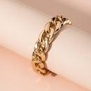 Bracelet  chane paisse simple et exagr NHAI314293
