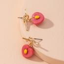 Boucles d39oreilles en alliage de fraises simples de style coren NHAI314298