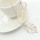 Simple Metal Necklace  NHDP314302