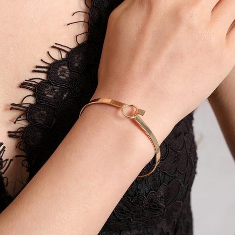 Nouveau bracelet ouvert de mode simple coréen NHDP314307's discount tags