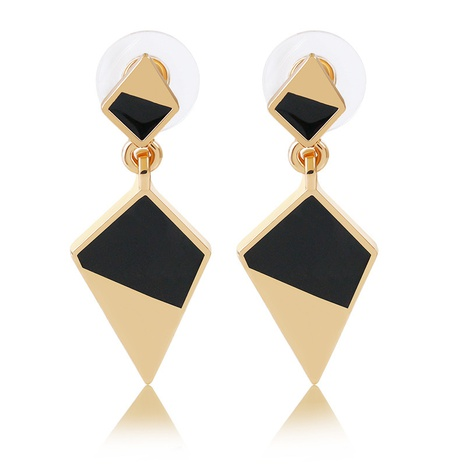 fashion exaggerated long metal geometric earrings NHDP314310's discount tags