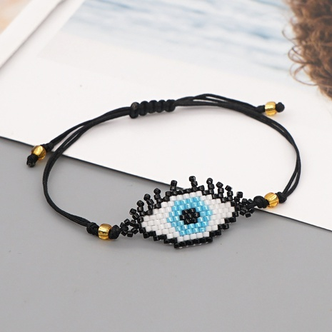 ethnic style Turkish devil eyes Miyuki rice bead bracelet NHGW314335's discount tags