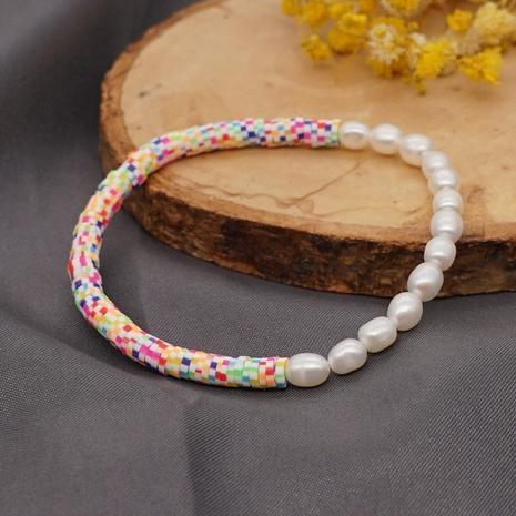 bracelet de perles baroques d'eau douce de style ethnique bohème NHGW314341's discount tags