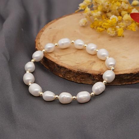 Simple Bohemian Fashion Freshwater Pearl Bracelet NHGW314343's discount tags
