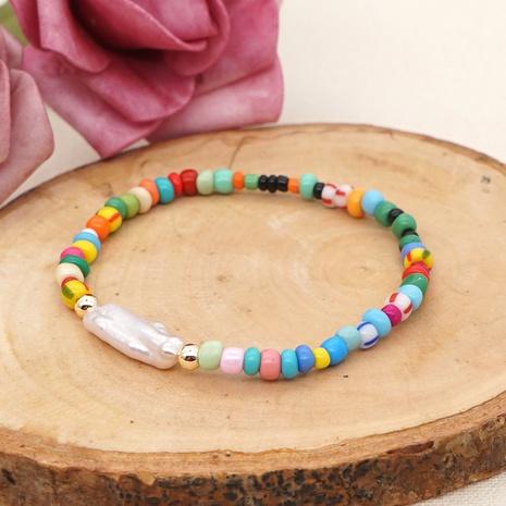 petit bracelet simple perle de bohème baroque NHGW314345's discount tags
