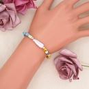 petit bracelet simple perle de bohme baroque NHGW314345
