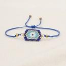 Pulsera de cuentas de ojos azules turcos tnicos de moda simple NHGW314351