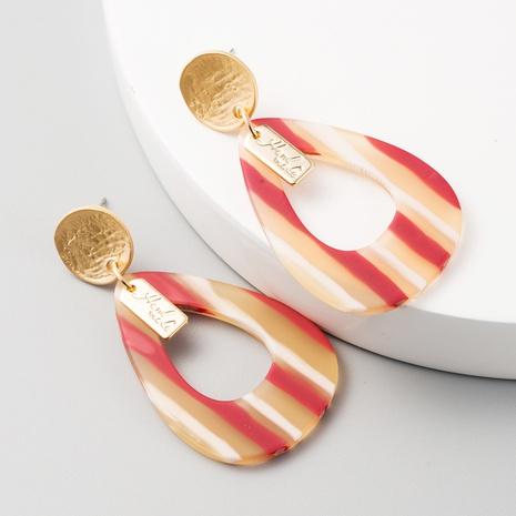Boucles d'oreilles de forme géométrique à l'aiguille en argent 925 NHLN314357's discount tags