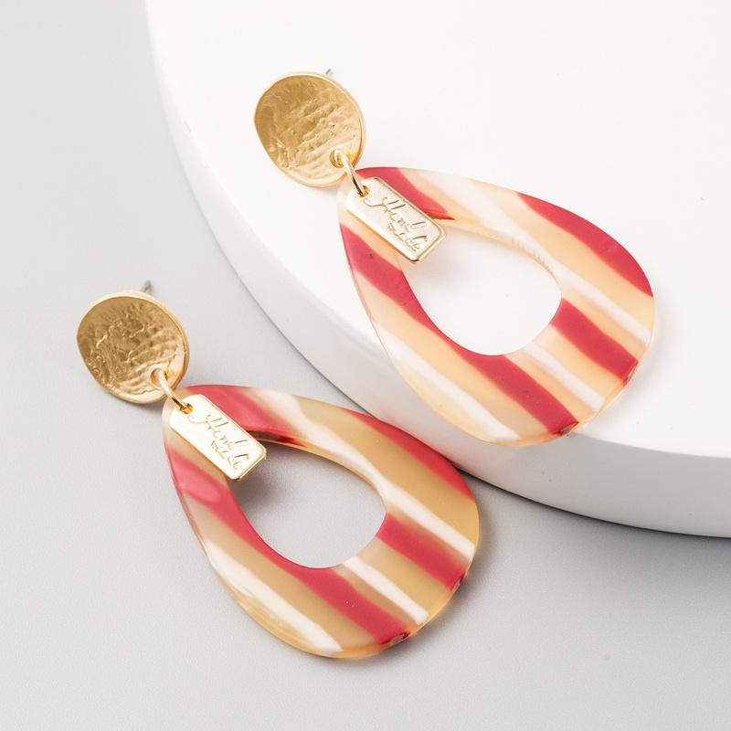 Boucles d39oreilles de forme gomtrique  l39aiguille en argent 925 NHLN314357