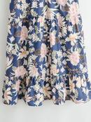 vestido de manga corta con cuello en V estampado NHAM314360