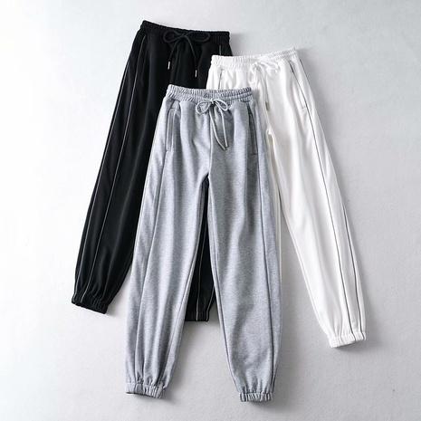 elastische Taillenkorsetthose NHAM314399's discount tags
