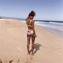 sexy bikini dividido de cintura alta NHHL314419
