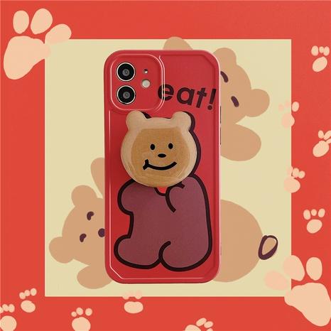 Neujahr Red Bear Apple Handyhülle für iPhone8 Softcover se2 XR NHFI314437's discount tags