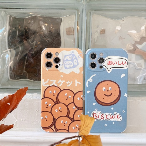 Korean cute biscuit mobile phone case for iPhone8plus XR XS NHFI314442's discount tags