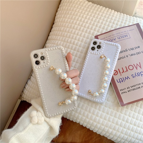 simple pearl bracelet shell phone case for apple se2 8plus XR NHFI314477's discount tags