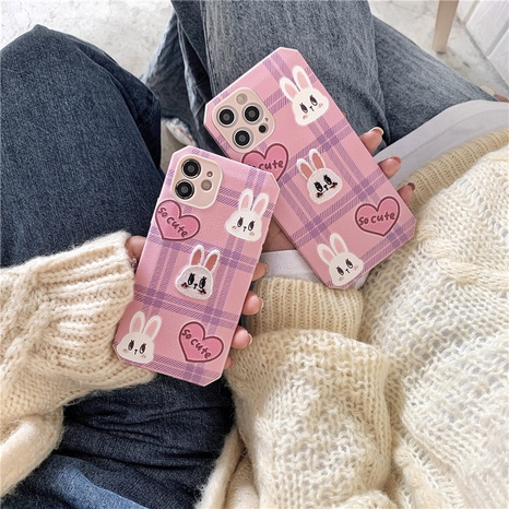Korean pattern love embroidery rabbit mobile phone case for iPhone8plus se2 NHFI314482's discount tags