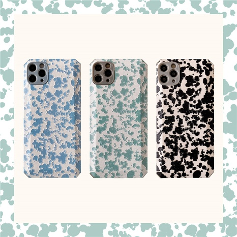 Korean splash ink oil painting mobile phone case for iPhone8plus se2 X NHFI314490's discount tags