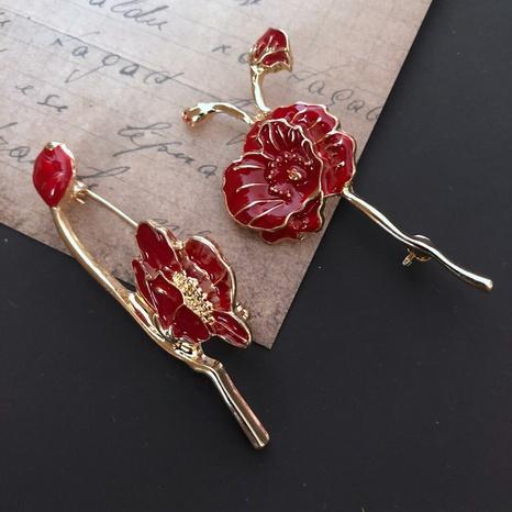 fashion drip glaze flower brooch  NHOM314568's discount tags