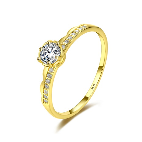 S925 silver zircon simple ring  NHLE314020's discount tags