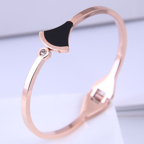 Bracelet simple en acier titane de mode coréenne NHSC314583's discount tags