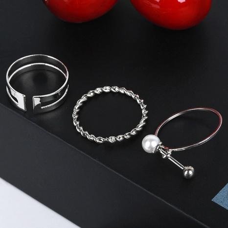 ensemble de trois anneaux d'ouverture creux NHDP314071's discount tags